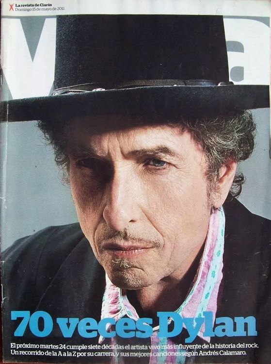 clarin argentina viva 15 May 2011 supplement Bob Dylan cover story