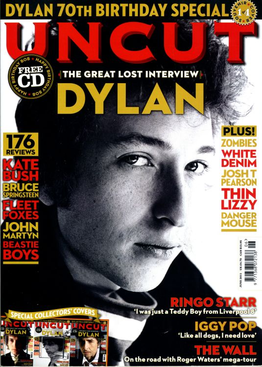 uncut magazine June 2011 #1 Bob Dylan cover story