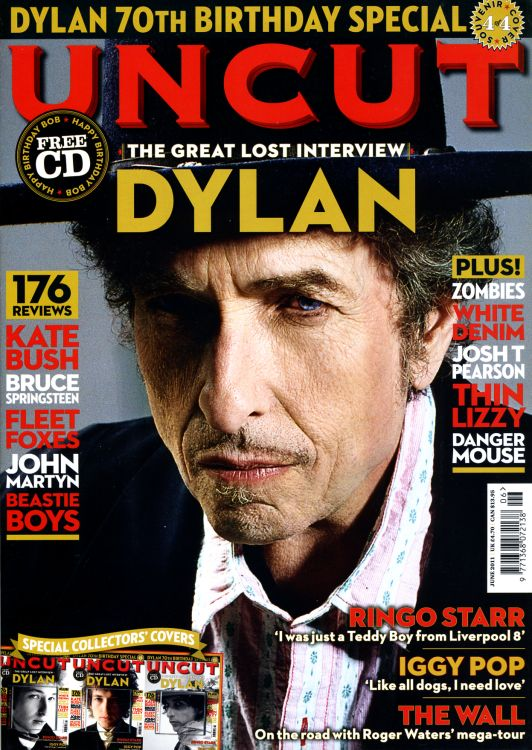 uncut magazine June 2011 #4 Bob Dylan cover story