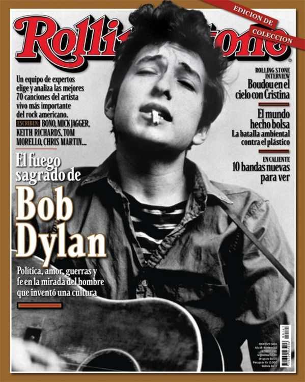 rolling stone magazine argentina #163 Bob Dylan cover story