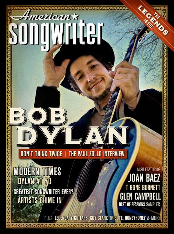 american songwriter 2012 01 magazine Bob Dylan cover story