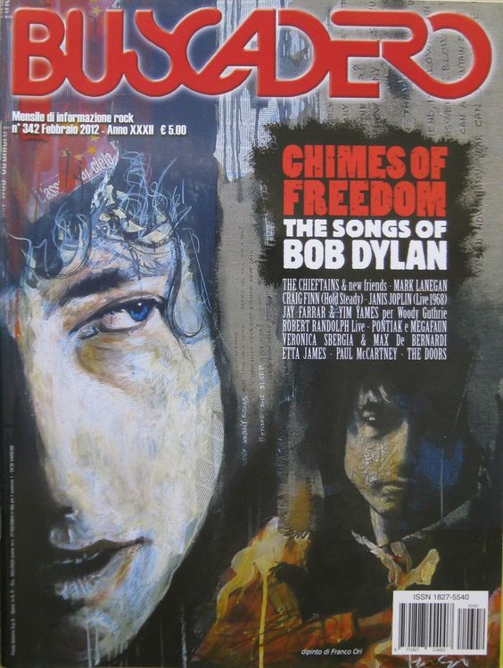 Buscadero magazine 342 Bob Dylan cover story