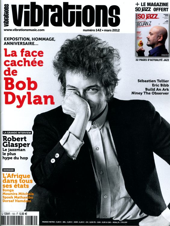 vibrations magazine Bob Dylan cover story