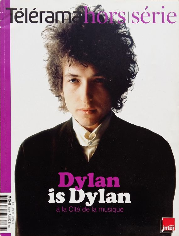 telerama magazine hors seir March 2005 france Bob Dylan cover story