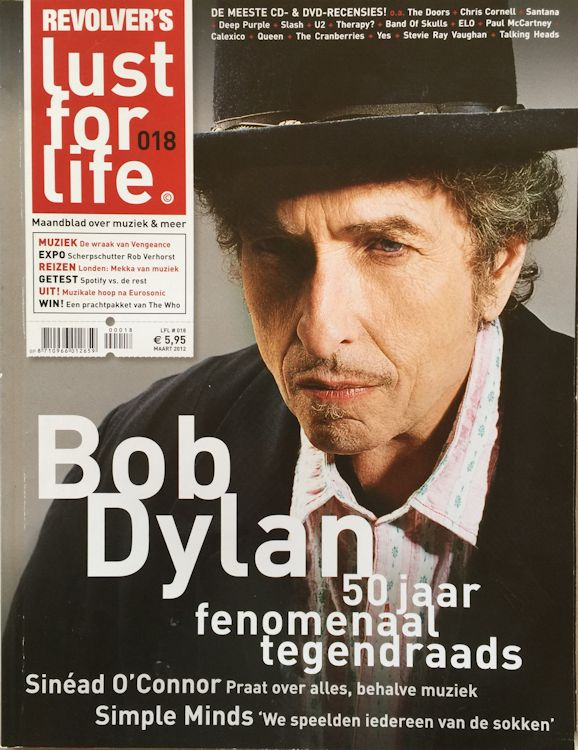 lust for life 2012 magazine Bob Dylan cover story
