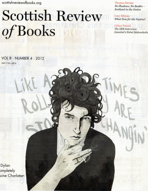 scottish review of books magazine Bob Dylan cover story