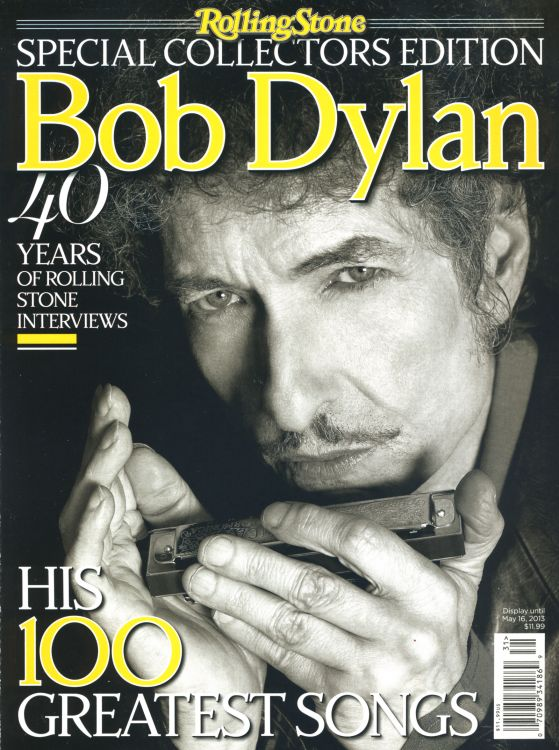 Rolling Stone US magazine february 2013 front Bob Dylan cover story