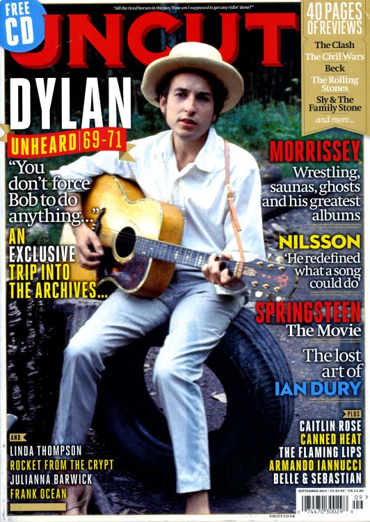 uncut magazine September 2013 Bob Dylan cover story