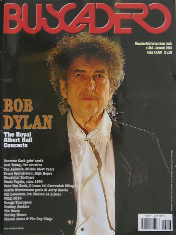 Buscadero magazine 363 Bob Dylan cover story