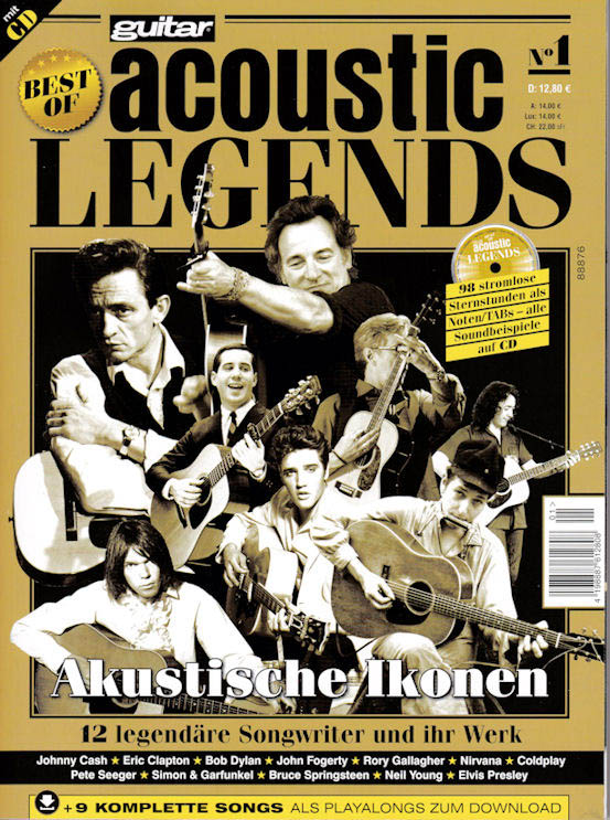 acoustic legends magazine Bob Dylan cover story