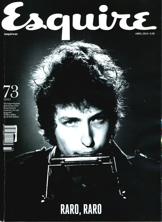 esquire spain magazine Bob Dylan cover story