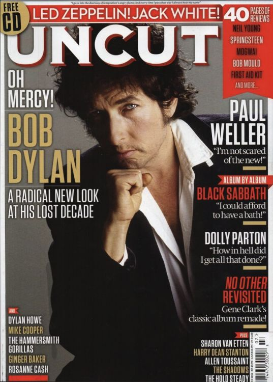 uncut magazine July 2014 us Bob Dylan cover story
