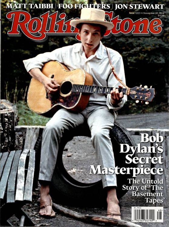 Rolling Stone US magazine november 2014 Bob Dylan cover story