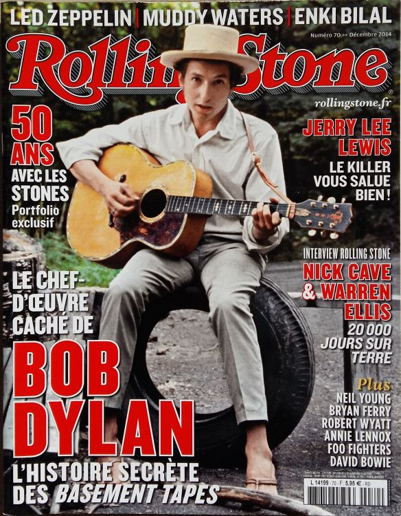rolling stone magazine france December 2014 Bob Dylan cover story