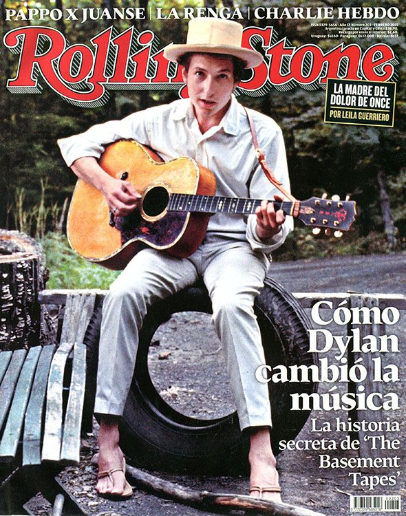 rolling stone magazine argentina #203 Bob Dylan cover story