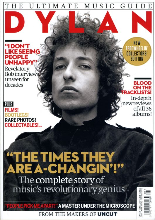 ultimate music guide uncut May 2015 magazine Bob Dylan cover story