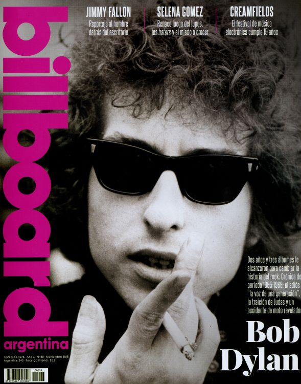 bilboard magazine argentina Bob Dylan cover story
