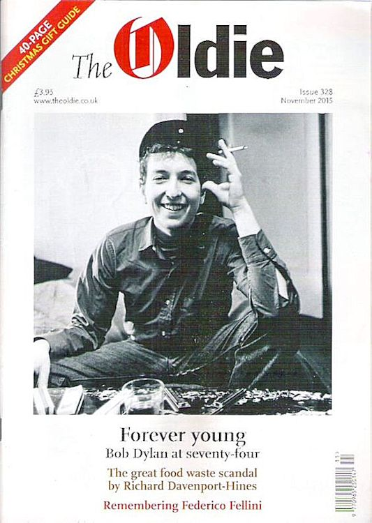 the oldie uk magazine Bob Dylan cover story