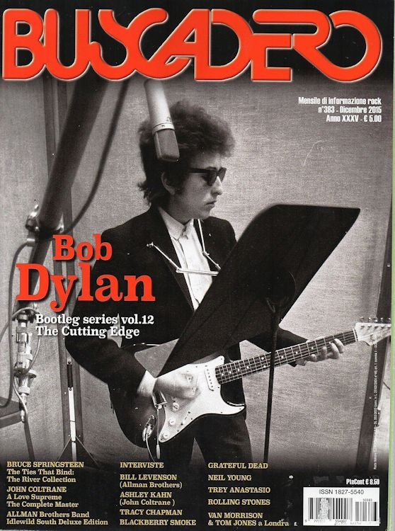 Buscadero magazine 383 Bob Dylan cover story