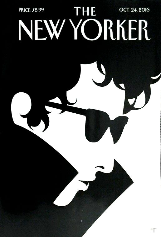 the new yorker magazine Bob Dylan cover story