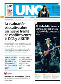 uno 2016 magazine Bob Dylan cover story