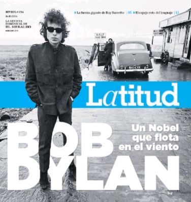 latitud colombia magazine Bob Dylan cover story