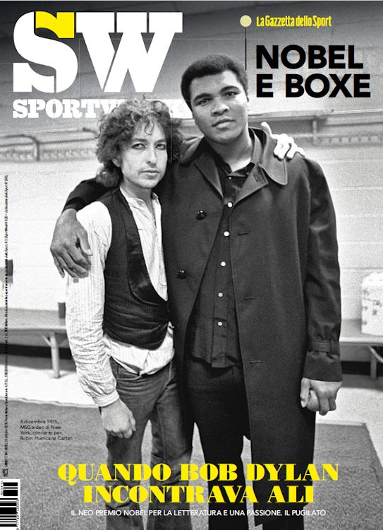 sw sport week magazine Bob Dylan cover story