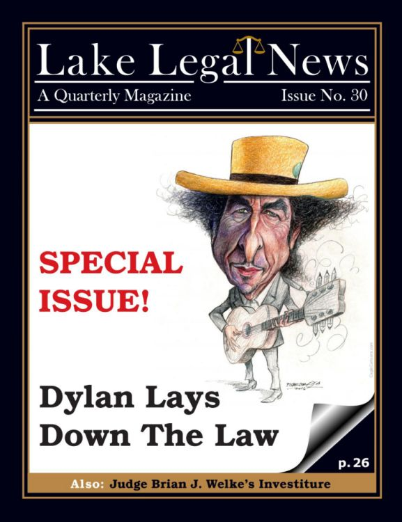 laje legal news magazine Bob Dylan cover story