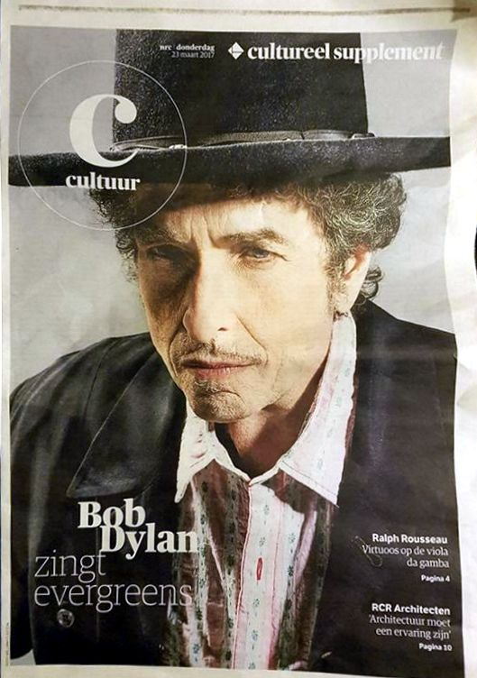 c cultur nrc supplement magazine Bob Dylan cover story