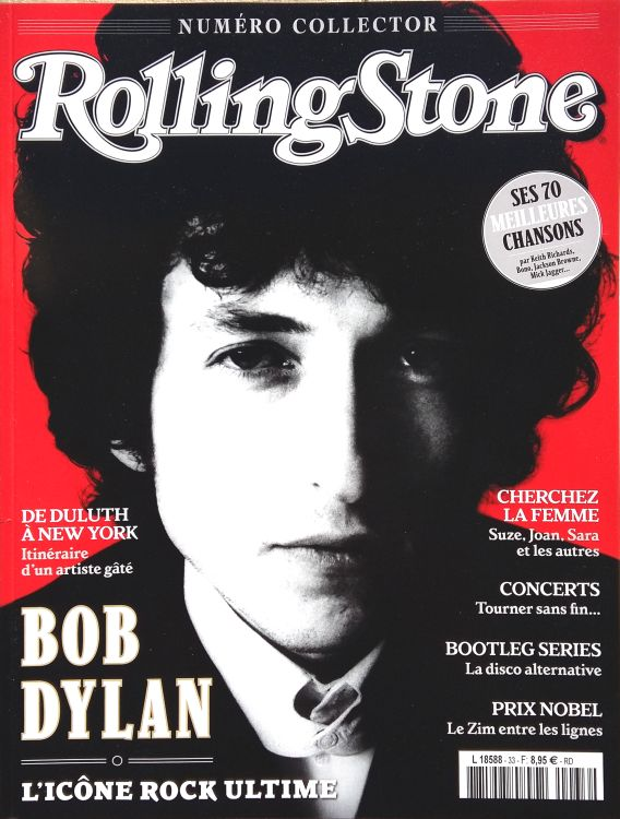rolling stone magazine france april 2017 special Bob Dylan cover story