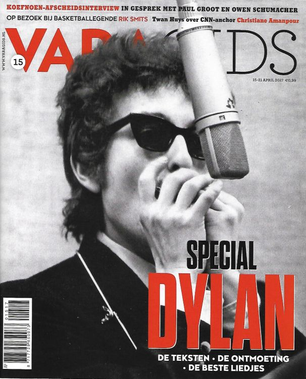 vara tv magazine April 2017 Bob Dylan cover story