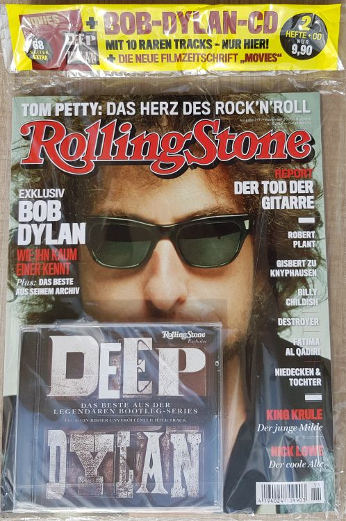 rolling stone magazine germany 2017 12 bag Bob Dylan cover story