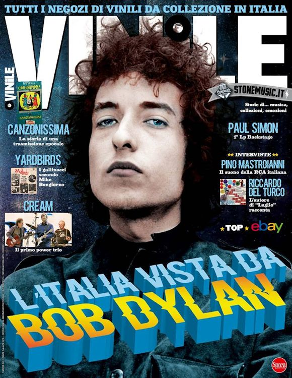 vinile magazine italy Bob Dylan cover story