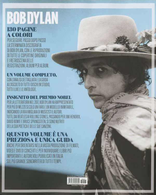 classic rock italy December 2018 front Bob Dylan cover story
