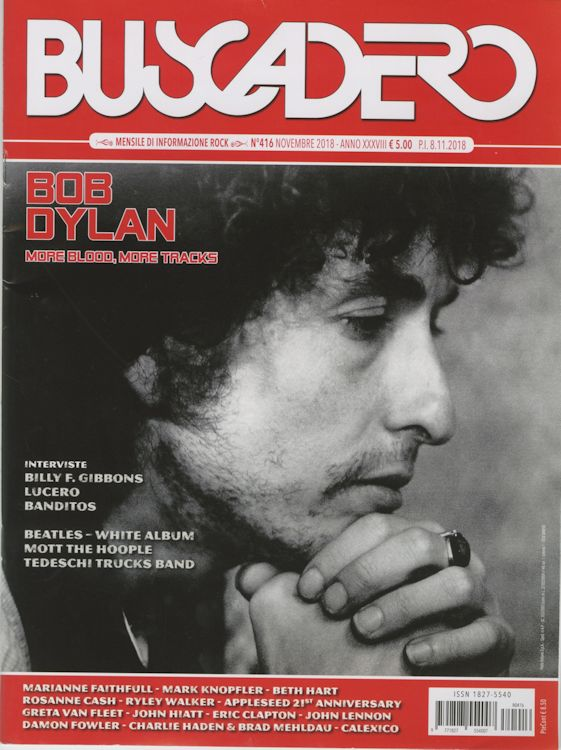 Buscadero magazine 416 Bob Dylan cover story