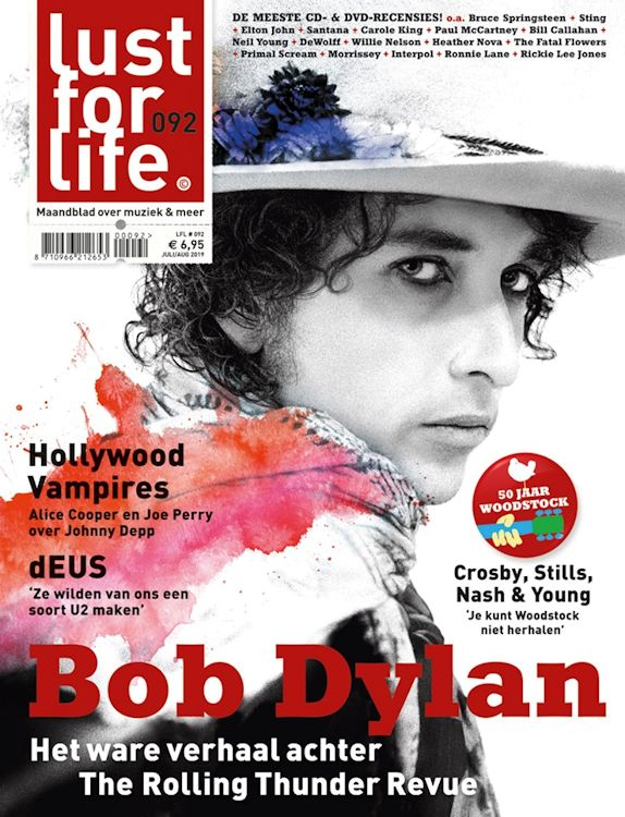 lust for life 2019 magazine Bob Dylan cover story