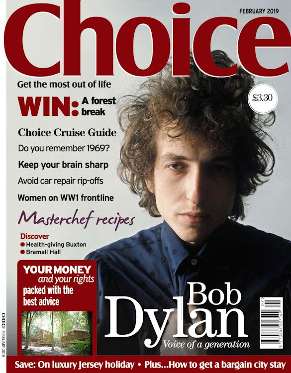 choice magazine Bob Dylan cover story