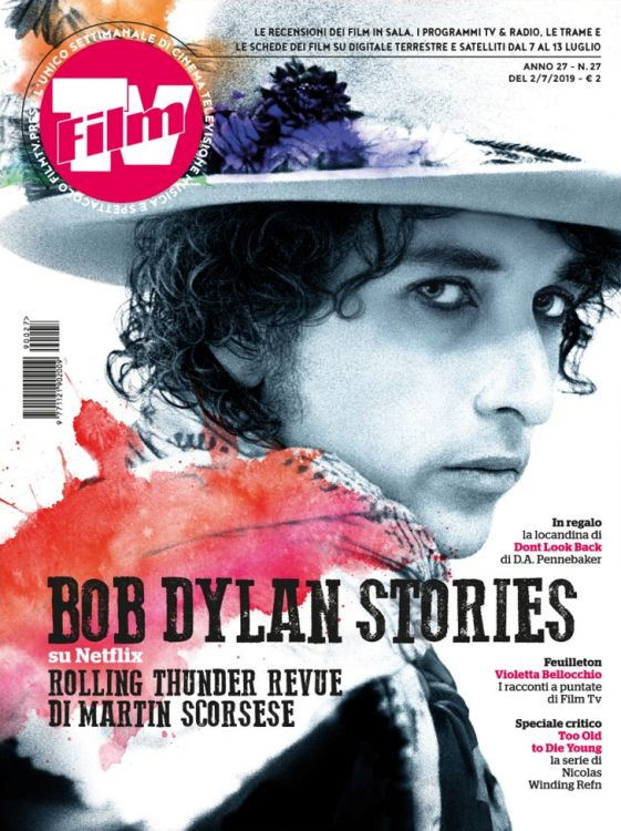 tv film italy magazine Bob Dylan cover story