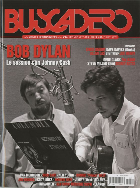 Buscadero magazine 427 Bob Dylan cover story