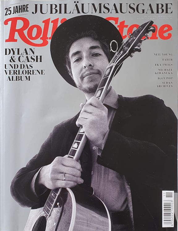 rolling stone magazine germany November 2019 Bob Dylan cover story