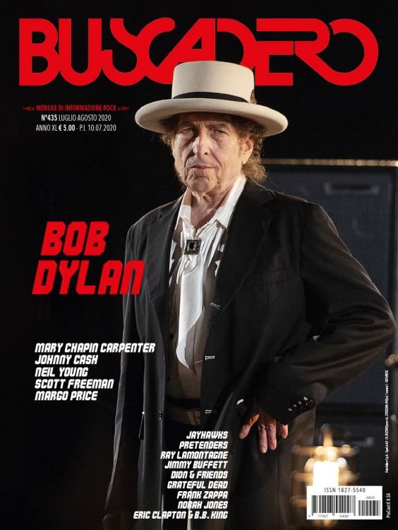 Buscadero magazine 435 Bob Dylan cover story