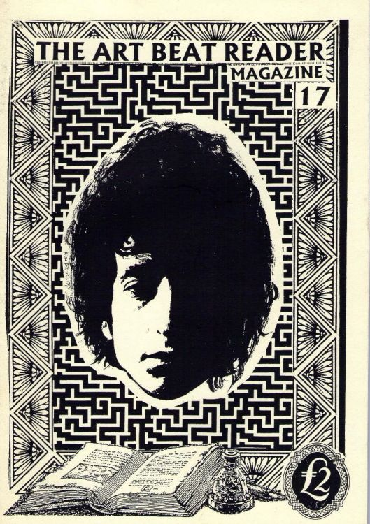 art beat reader magazine Bob Dylan cover story