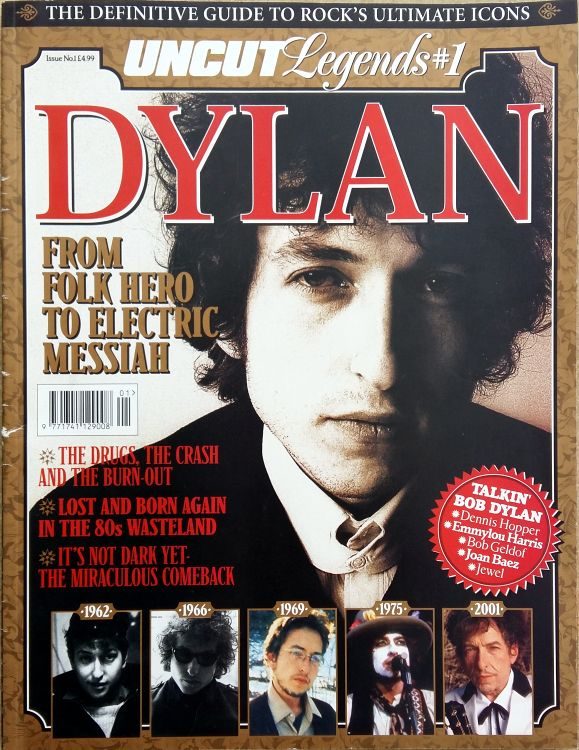 uncut magazine September 2003 Bob Dylan cover story