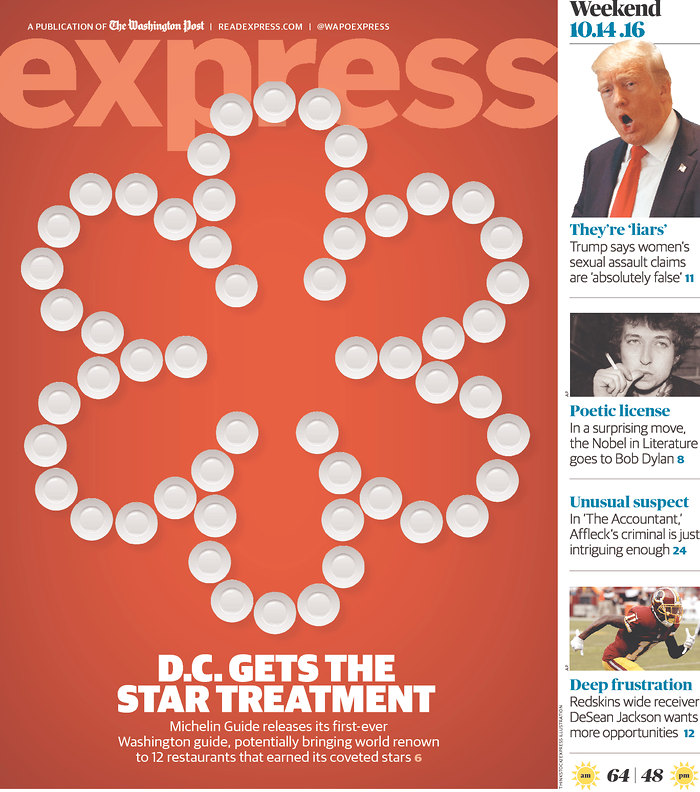 express washington dc  magazine Bob Dylan cover story