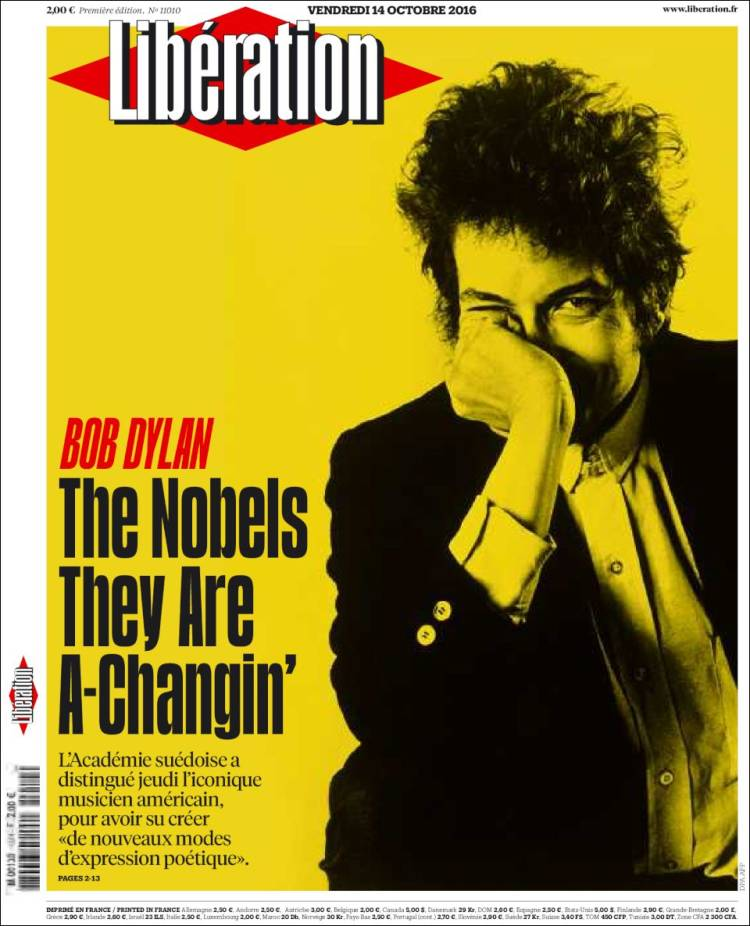 liberation magazine Bob Dylan cover story