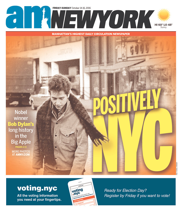 am new york magazine Bob Dylan cover story