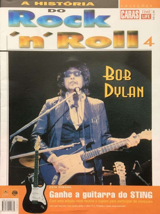 a historia do rock n roll magazine Bob Dylan cover story