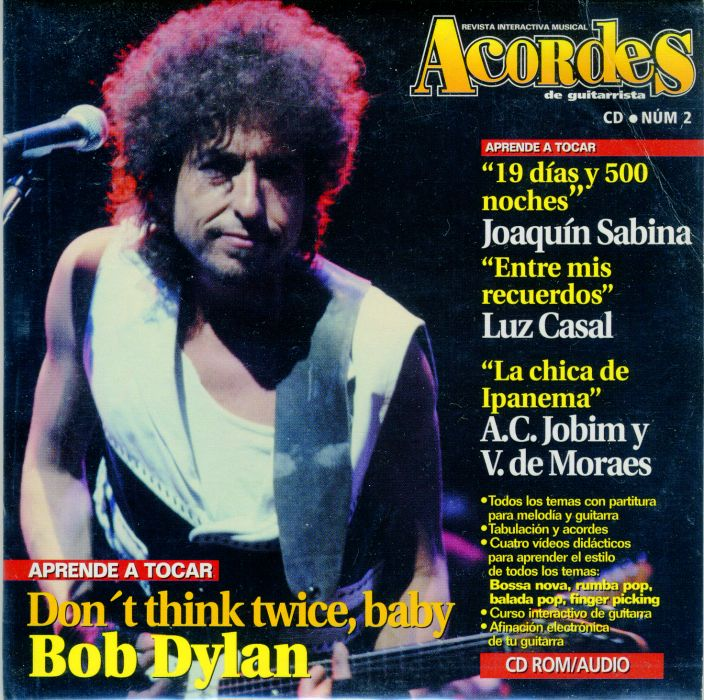 acordes magazine Bob Dylan cover story