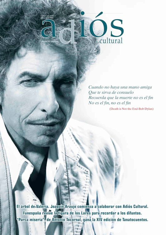 adios cultural magazine Bob Dylan cover story