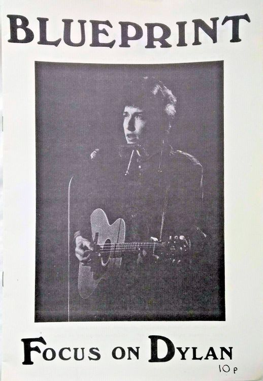 blueprint magazine Bob Dylan cover story